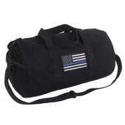 Thin Blue Line Canvas Shoulder Sport Bag - View