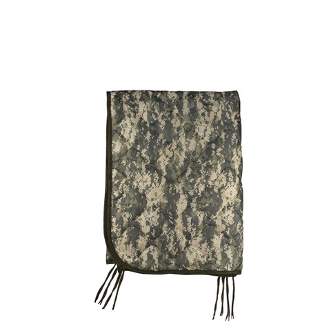 Army Type Digital ACU Camo Poncho Liner - View