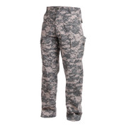 ACU Digital Camo Uniform Pants - Side View
