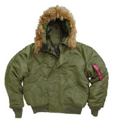 Alpha N 2B Parka Flight Jackets