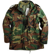Alpha M 65 Field Jacket - Woodland Camo