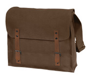 Vintage Brown Canvas Medic Bag - View