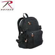 Vintage Black Urban Mini Backpack - Rothco View