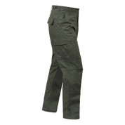 Olive Drab Ripstop Cotton BDU Fatigue Pants