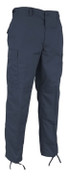 Rothco Navy Ripstop Cotton BDU Fatigue Pants - Full View