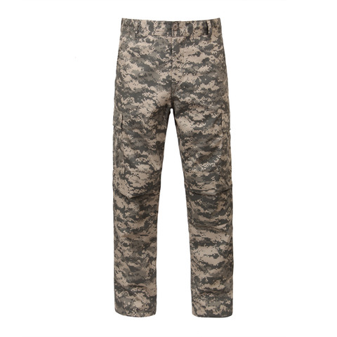 Army ACU Digital Camo BDU Fatigue Pants - Front View