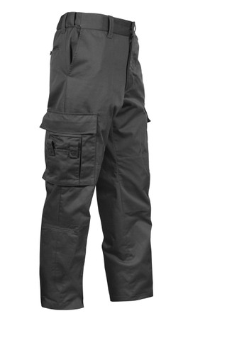 Rothco Deluxe Black EMT Uniform Pant - View