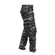 Urban Tiger Stripe Camo BDU Fatigue Pants - Right Side View