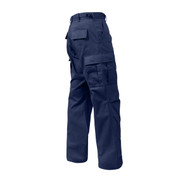 Midnight Blue BDU Fatigue Pants - View