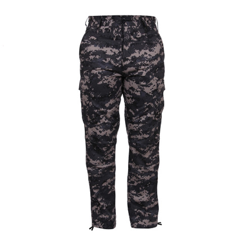 Subdued Urban Digital Camo BDU Fatigue Pant - Front View