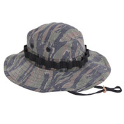 Vietnam Tiger Stripe Boonie Hat - Right Side View