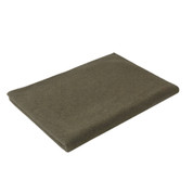 "Olive Drab Wool Camp Military Blankets - 66"" X 90"""