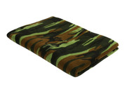 Woodland Camo Fleece Blankets