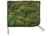 Woodland Camo Poncho Liner - View