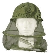 Olive Drab Mosquito Head Net