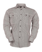 Big Bill Railroad Loggers Hickory Stripe Shirt - Full View