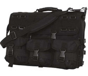 Black M.O.L.L.E. Tactical Laptop Briefcase Bag