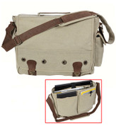 Khaki Vintage Trailblazer Laptop Bag