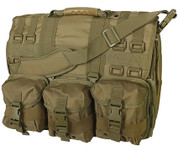 Coyote M.O.L.L.E. Tactical Laptop Briefcase