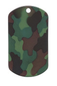 Woodland Camo Dog Tags