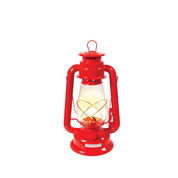 Red Kerosene Lantern - View