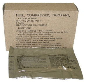 G.I.Trioxane Fuel Bars - View
