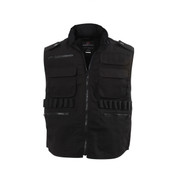 Black Ranger Vest - Front View