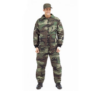 Camo Cold Weather Insulated Coveralls - View