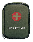 Military Zipper First Aid Pouches