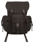 Dakota Canvas Backpack - Black