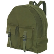 Travelers Canvas Teardrop Daypack - Olive Drab