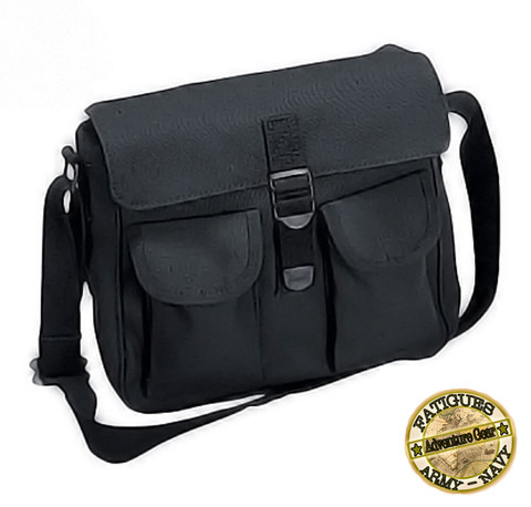 Black Ammo Shoulder Bag - View