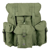 Mini Canvas Alice Packs - Olive Drab