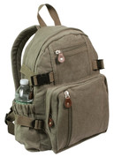 Vintage Canvas Earth Olive Urban Hikers Daypack
