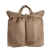 Coyote Brown Pilots Helmet Bag - Front View