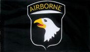 Screaming Eagle 101st Airborne Flag
