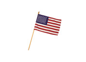 US Parade Flag on Stick