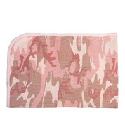 Infant Camo Baby Pink Camo Receiving Blanket - View