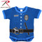 Infant Police Uniform Navy Bodysuit - Rothco View