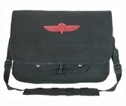 Israeli Paratrooper Shoulder Bags - Black