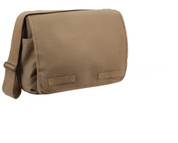 Mocha Brown Messenger Bag - View