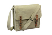 Khaki Vintage Canvas Medics Bag - View
