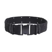 Marine Style Quick Release Black Pistol Belts