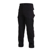 SDU Black Uniform Pants - Left Side View