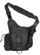 Advanced Tactical Black Sling Bag - View