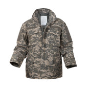 M-65 ACU Digital Camo Field Jackets - Front View