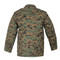 Woodland Digital Camo M-65 Field Jackets - Back View