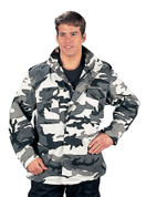 Urban Camo M-65 Field Jackets - Full View