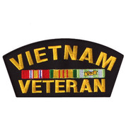 Vietnam Veteran Patch - View