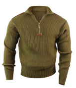 Outdoorsman Field Shooting Sweater - Olive